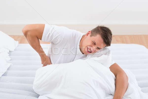 Man Suffering From Backache Stock photo © AndreyPopov
