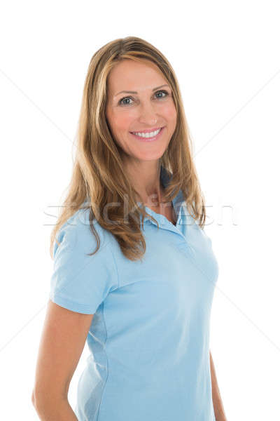 Portrait Of Beautiful Woman In Casuals Stock photo © AndreyPopov