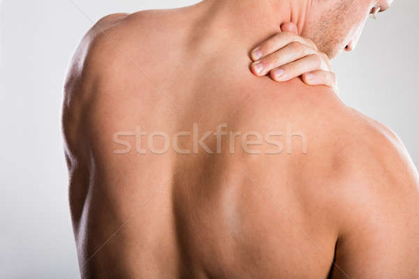 Man With Backache Stock photo © AndreyPopov