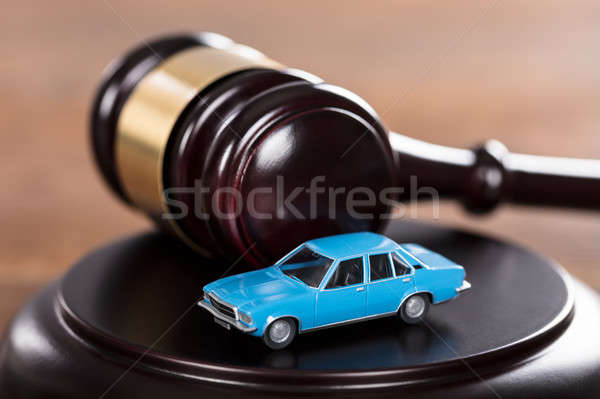 Car On The Mallet Stock photo © AndreyPopov