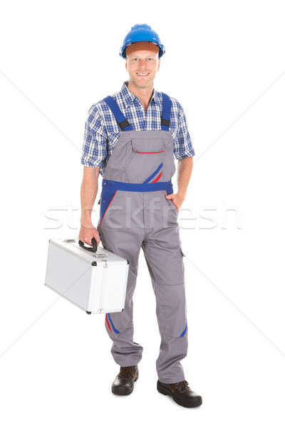 Manual Worker With Toolbox Stock photo © AndreyPopov