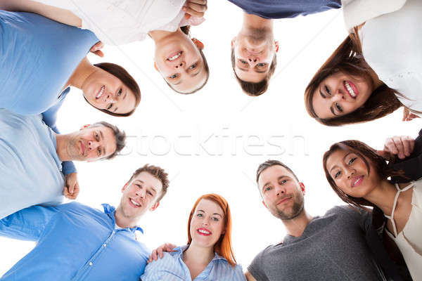 Diverse group of people standing together Stock photo © AndreyPopov