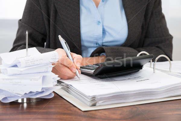 Сток-фото: столе · бизнеса · бумаги