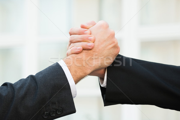 Businessmen Handshaking Outdoors Stock photo © AndreyPopov
