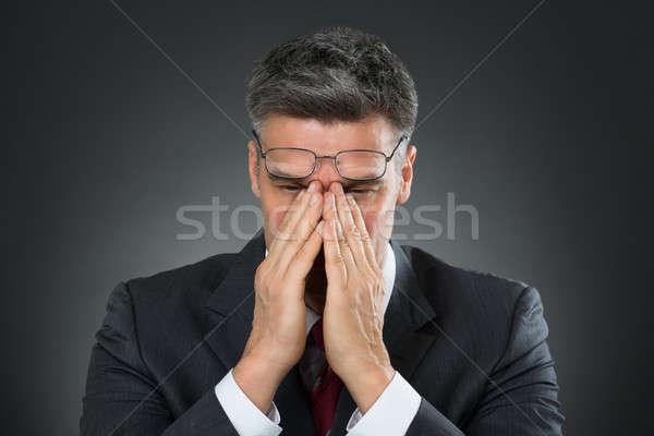 Stressed Businessman Stock photo © AndreyPopov