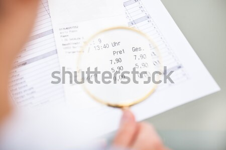 Hourglass On The Calendar Sheet Stock photo © AndreyPopov