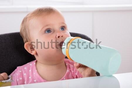 Trinkwasser Flasche cute wenig Stock foto © AndreyPopov