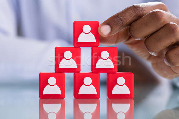 Human Resources And Management Concept Stock photo © AndreyPopov