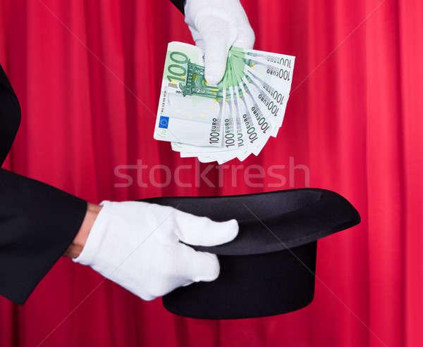 маг стороны 100 евро сведению Сток-фото © AndreyPopov