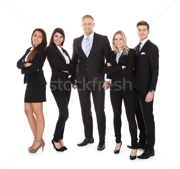 Portrait Of Welldressed Businesspeople Stock photo © AndreyPopov