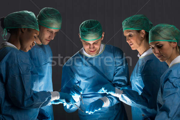 Stock photo: Surgeons In Operating Room