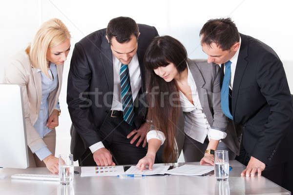 Business People Working Together Stock photo © AndreyPopov