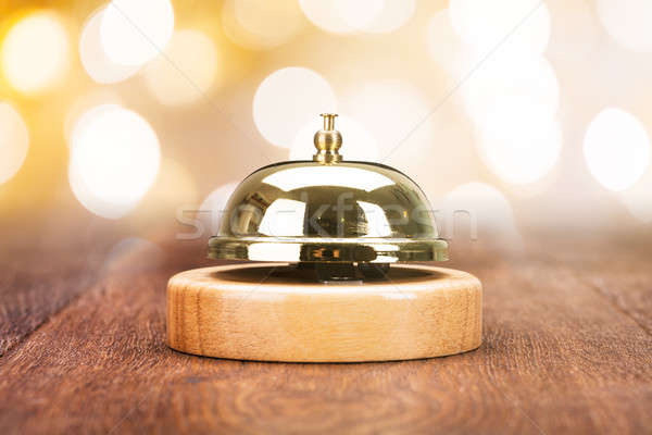 Close-up Of Service Bell Stock photo © AndreyPopov