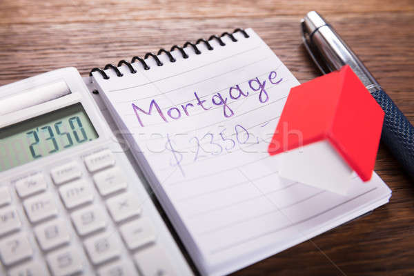 Calculated Mortgage Concept Stock photo © AndreyPopov