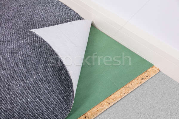 Close-up Of A Folded Carpet Stock photo © AndreyPopov