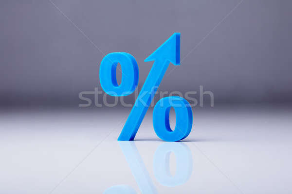 Close-up Of A Percentage Symbol Stock photo © AndreyPopov