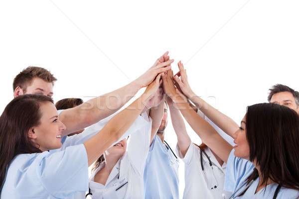 Large group of motivated doctors and nurses Stock photo © AndreyPopov
