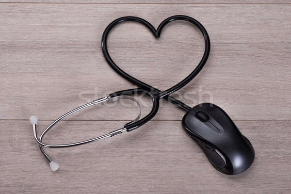 Online medical advice concept Stock photo © AndreyPopov