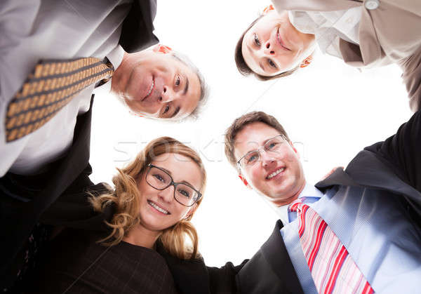 Business executives looking down Stock photo © AndreyPopov