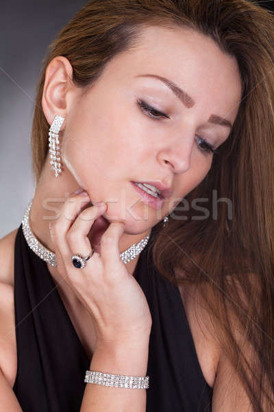 Portrait Of Young Woman Stock photo © AndreyPopov