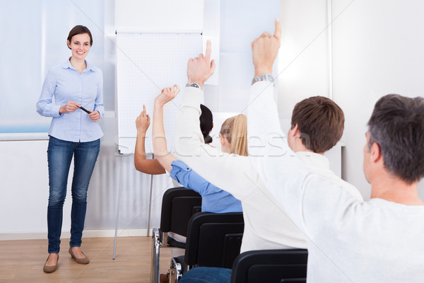 People In Business Training Stock photo © AndreyPopov