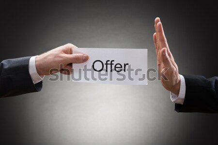 Female Music Conductor's Hands Holding Baton Stock photo © AndreyPopov