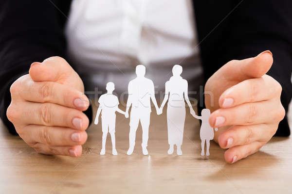 Saving Family Concept Stock photo © AndreyPopov