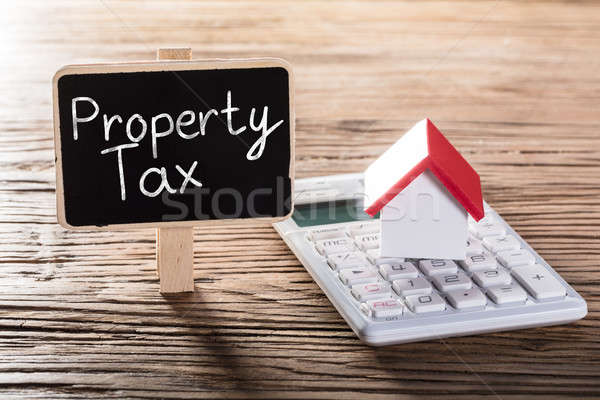 Showing Property Tax Concept Stock photo © AndreyPopov