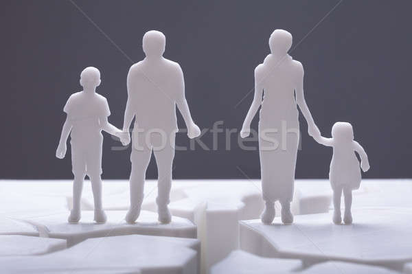 Family Separation Concept Stock photo © AndreyPopov