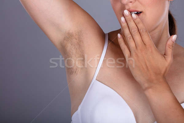 Woman With Hairy Armpit Stock photo © AndreyPopov