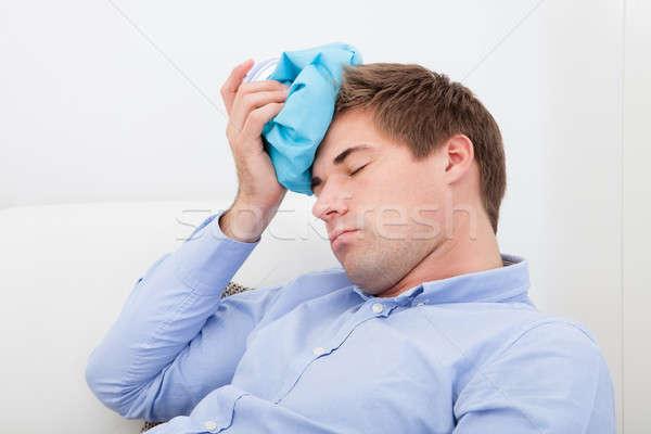 Man Suffering With Headache Stock photo © AndreyPopov