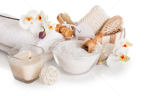 Stock photo: Bath Spa Massage Kit