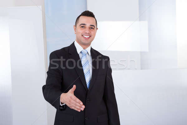 Confident Businessman Offering Handshake Stock photo © AndreyPopov
