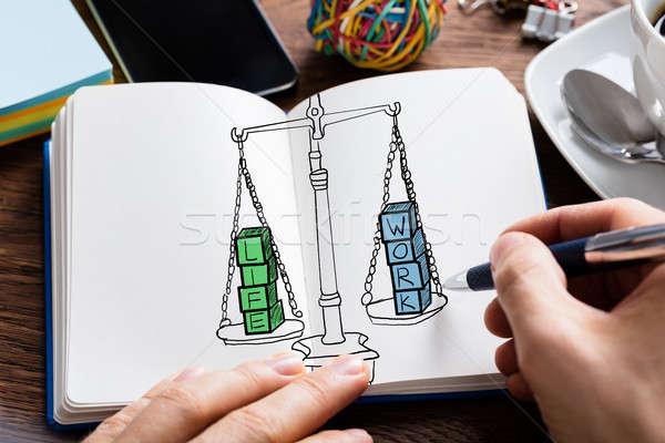 Stock photo: Work Life Balance Concept