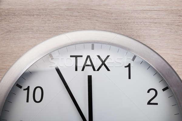 Saat varış vergi zaman görüntü Stok fotoğraf © AndreyPopov