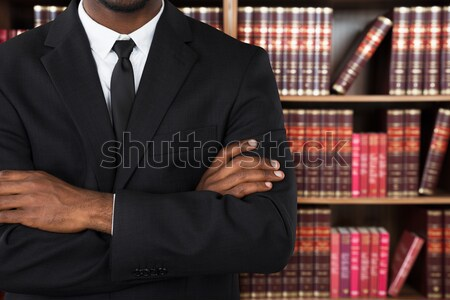 Close-up Of A Lawyer In Office Stock photo © AndreyPopov
