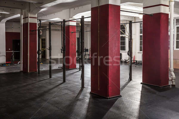 An Interior Of A Gym Stock photo © AndreyPopov