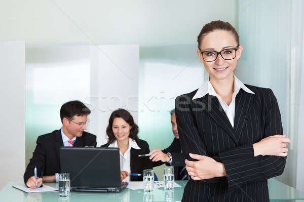 Corporate advancement and leadership Stock photo © AndreyPopov