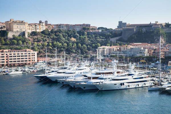 Монако порта фото город пейзаж Сток-фото © AndreyPopov