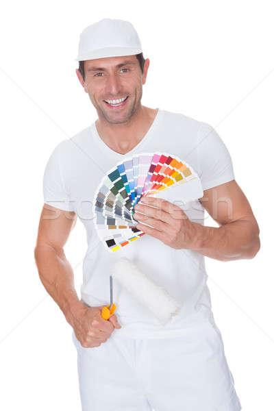 художника краской спектр цвета Сток-фото © AndreyPopov