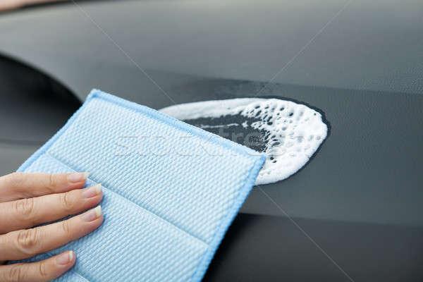 Hand Washing A Car Stock photo © AndreyPopov