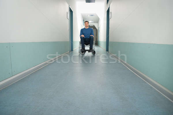 Portrait Of A Disabled Man Stock photo © AndreyPopov