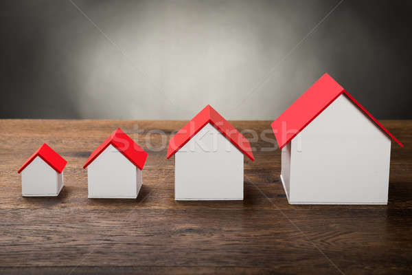 Different Size Houses Stock photo © AndreyPopov