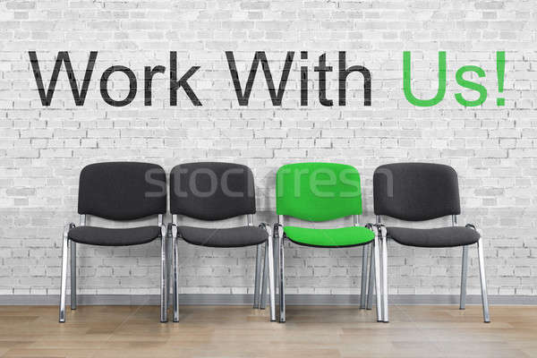 Work With Us Concept Stock photo © AndreyPopov