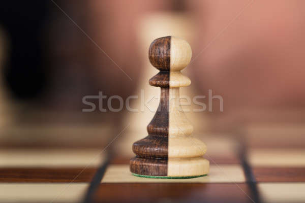 Merged Chess Pawns Stock photo © AndreyPopov