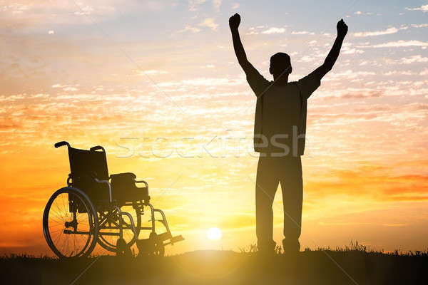 Handicapped Can Walk Again Stock photo © AndreyPopov