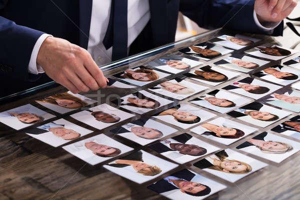 ビジネスパーソン 写真 候補者 クローズアップ デスク ストックフォト © AndreyPopov