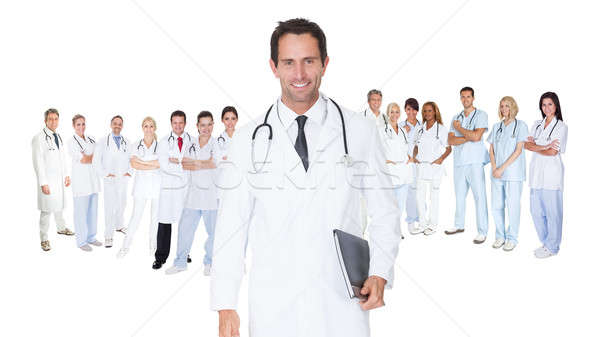Large group of doctors and nurses Stock photo © AndreyPopov