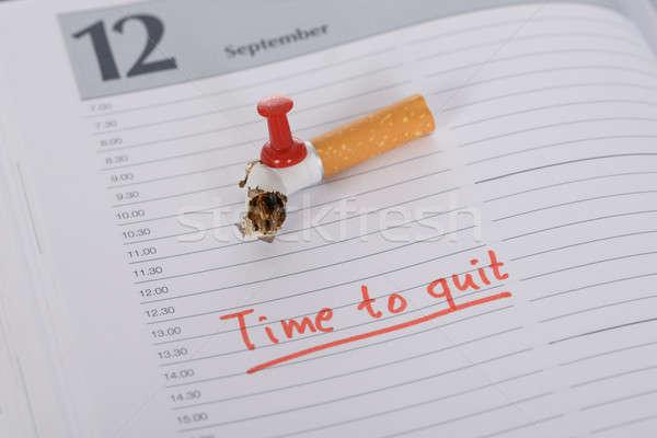 Quit Smoking Stock photo © AndreyPopov