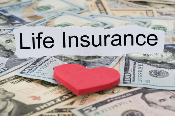Life Insurance Text On Piece Of Paper Stock photo © AndreyPopov